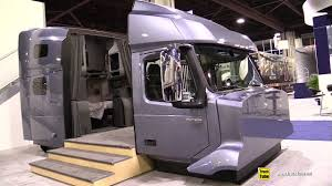 2018 Volvo VNL 760 High Roof Sleeper Cabin Interior Diplay ...