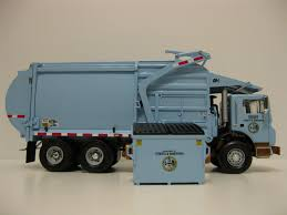 100 First Gear Garbage Truck City Of Chicago Front Load Garbage Truck W Bin A