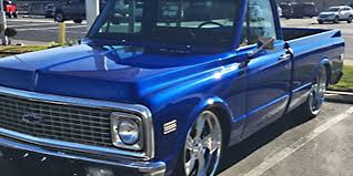 1971 Chevrolet C10 - Twisted Vista II - Intro Custom Wheels 1971 Chevrolet C20 Pickup W171 Indy 2012 Unstored Shortbed C10 Httpbarnfindscom 71 Cheyenne Super Short Bed Sold Youtube Cst Pickups Panels Vans Original C 10 Pole Cat For Sale In Key Largo Fl Nations For Sale Ck Truck Near Cadillac Michigan 49601 Fast Lane Classic Cars Sale Classiccarscom Cc1055432 C50 Stake Bed Dump Truck Item H9371 Sold Questions How Much Is A Chevy Pickup Gateway 1038ord