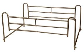 home bed style adjustable length bed rails drive medical