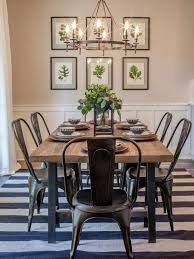 Fixer Upper A Contemporary Update For Family Sized House Lighting Dining RoomDining