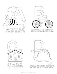 Free Abc Coloring Pages Printable Coloring Letters Color By Letters