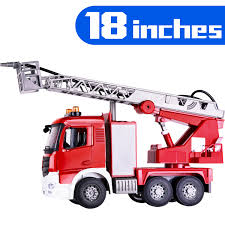 100 Cost Of A Fire Truck Large Toy Shooting Water Lights N Sound Extending
