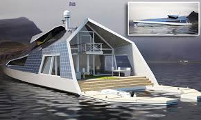 100 House Boat Designs Maxim Zhivov Designs Ultimate Houseboat Concept S Pinterest