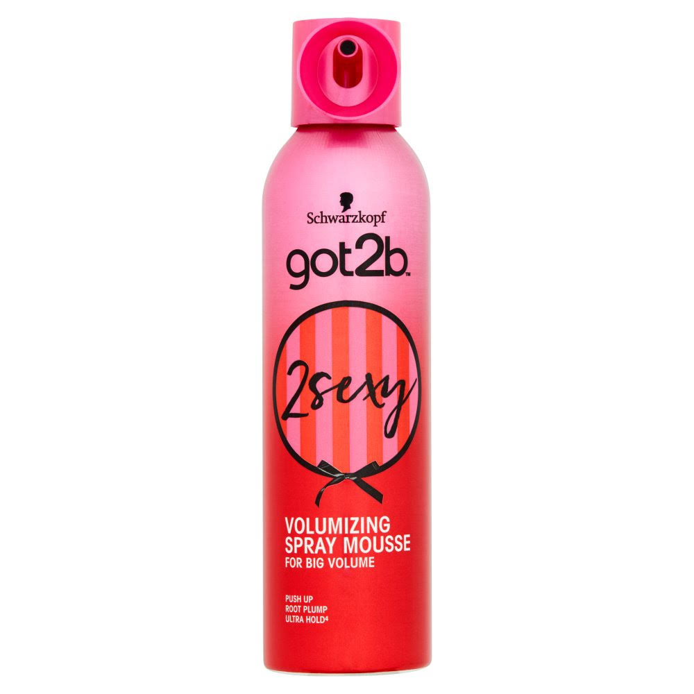 Schwarzkopf Got2b Push Up Volumizing Spray Mousse - 250ml