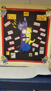 flu vs cold minion my nurse office my school pinterest flu