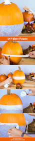 Diy Pumpkin Carriage Centerpiece by Best 25 Glitter Pumpkins Ideas On Pinterest Glitter Fall Decor