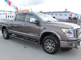 100 Nissan Diesel Pickup Truck Used 2017 Titan XD Platinum Reserve For Sale In