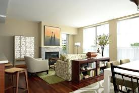 Interior Reasons Why Design Is Popular Awesome Living Room With Dining In Small Area Floral Sofa Pattern And Fireplace Also Image