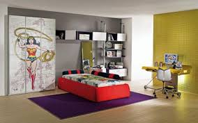 kids bedroom decorating ideas with superhero character home