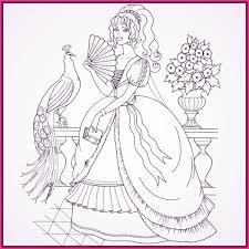 Dibujos Para Colorear De Barbie De Princesa Cara Sonriente