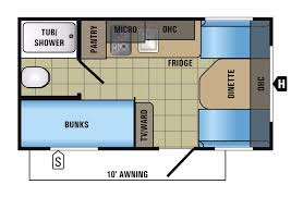 Jayco Class C Motorhome Floor Plans by Jayco Jay Flight Slx 154bh Rvs For Sale Camping World Rv Sales