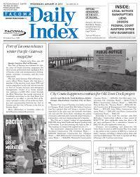 Floor Trader Tacoma Wa by Tacoma Daily Index January 29 2014 By Sound Publishing Issuu