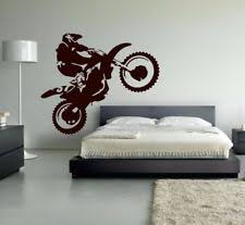 motocross wall sticker decal ebay