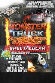99 Monster Trucks Tickets Truck Night Of Fire ThrillsPaso Robles In Paso