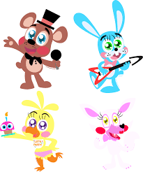 The Freddy Fazbear Gang 2 0 by AlisonWonderland1951viantart
