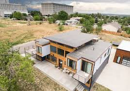 104 How To Build A Home From Shipping Containers Colorado Firefighter Ssembles Nine Into Family In Denver