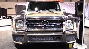 2015 Mercedes Benz G Class G63 AMG Exterior Interior Walkaround