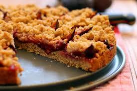 gesunder vollkorn zwetschgenkuchen es schmeckt mir