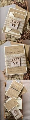 Burlap Wedding Invitations Dazzling Design Inspiration 8 1000 Ideas About On Pinterest