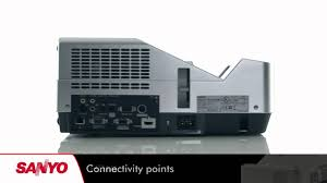 sanyo pdg dxl2000 projector
