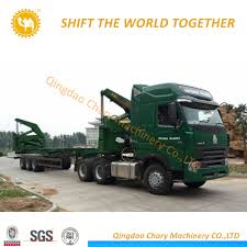 China Sinotruk Selfloader 20FT Container Trailer Sidelifter Truck ...