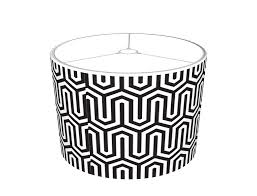 Large Lamp Shades Target by Mysoti Pineandberry U0027egyptian Black And White Pattern Lamp