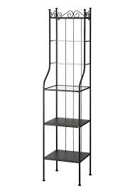 furniture 42x103cm ikea rönnskär waschbeckenregal in schwarz