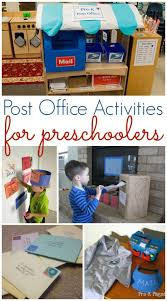 Post Office Activities For Preschool Learn About The And Mail At Home Or