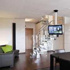 support tv au plafond support tv de plafond contemporain télécommandé motorisé pour