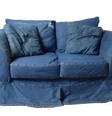 Cindy Crawford Denim Sofa Cover by Kroehler Denim Love Seat Ebth