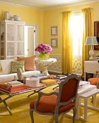 Yellow Living Room Color Schemes by Interior Color Schemes Yellow Green Spring Decorating Living