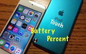 Enable iPod Battery Percent iOS 9 NO JAILBREAK