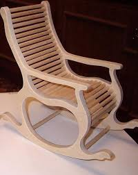 Rocking Chair, Vector Plan