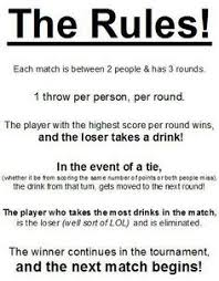 Bra Pong Rules More