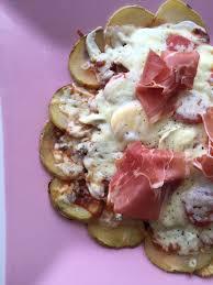 pizza sans pâte à base de pomme de terre et sa cuisine