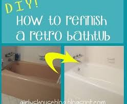 bathroom how to paint over ceramic tile in a todays homeowner can