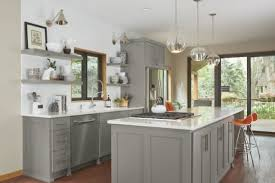 lummy painted gray kitchen cabinets