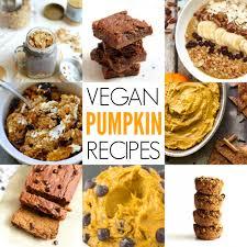 Easy Pumpkin Desserts With Few Ingredients by 21 Vegan Pumpkin Recipes Hummusapien