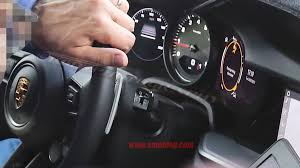 2019 Porsche 911 to digital interior — only the tach will be