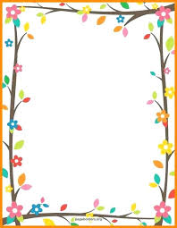 Printable Writing Paper With Borders School Border Template