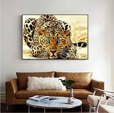 gaowei golden cheetah poster und drucke moderne tiere