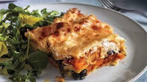 Rachael Ray Pumpkin Lasagna by Squash Lasagna With Spinach