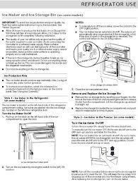 Kenmore Ice Maker Leaking Water On Floor by Whirlpool French Door Refrigerator Troubleshooting U0026 User Guide