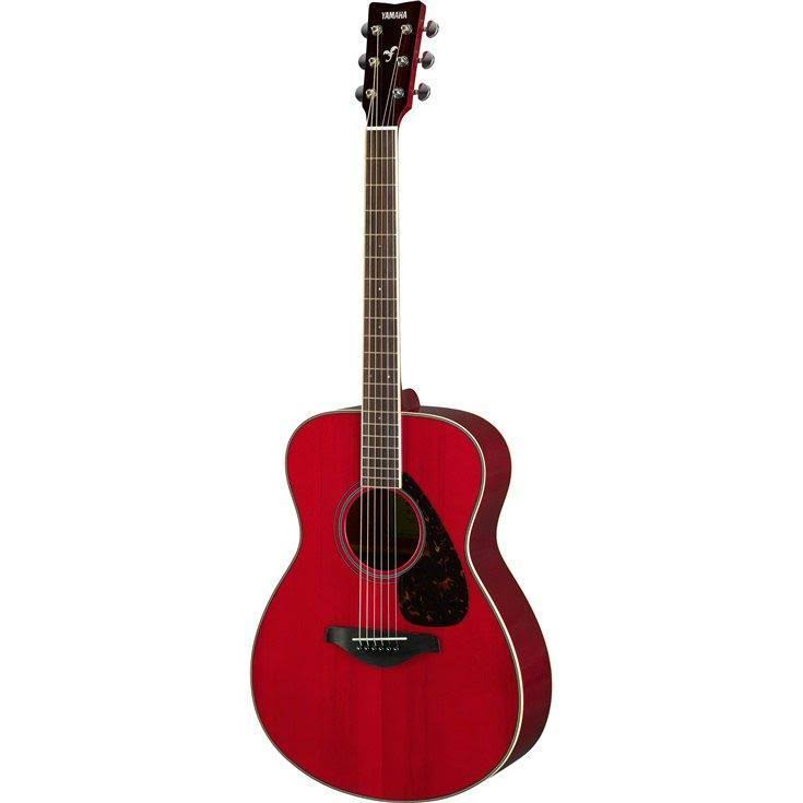 Yamaha Folk Symphony Acoustic Guitar - Ruby Red, Small