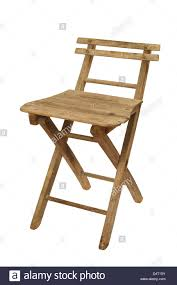 Old Folding Wooden Chair Stock Photo: 54617527 - Alamy