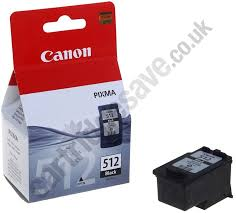 Genuine High Capacity Black Canon PG 512 Ink Cartridge