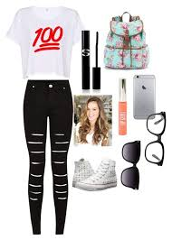 Going Into 6th Grade Outfit Makeup And Hair Some Acceriers By Reyawilber On
