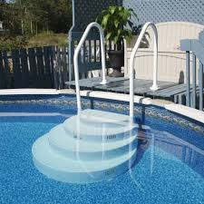Above Ground Pool Ladder Deck Attachment by Above Ground Pool Stairs New Pool Pinterest Ground Pools