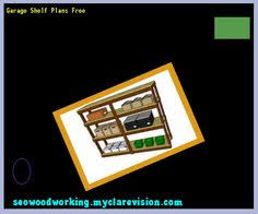 free standing garage shelves plans 091252 woodworking plans and